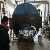 【现场视频】河北保定某厂锅炉房利雅路燃烧器维修