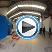 【现场视频】任丘某大型烤漆房百得TBL 45 PV安装调试