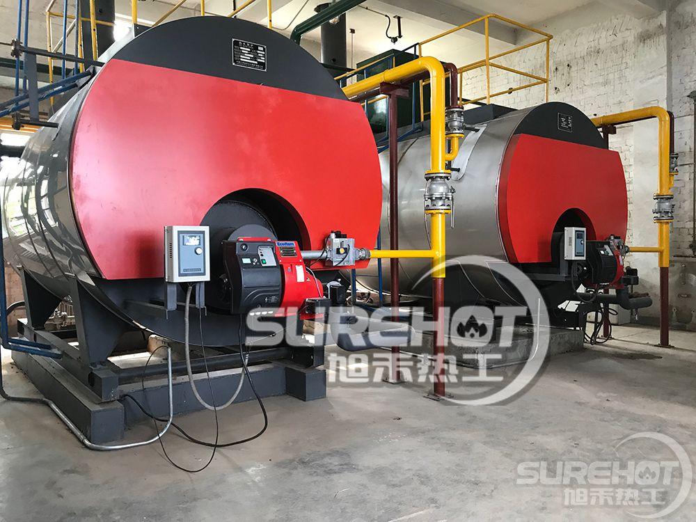 华腾公司意科法兰FGR烟气外循环超低氮燃烧器