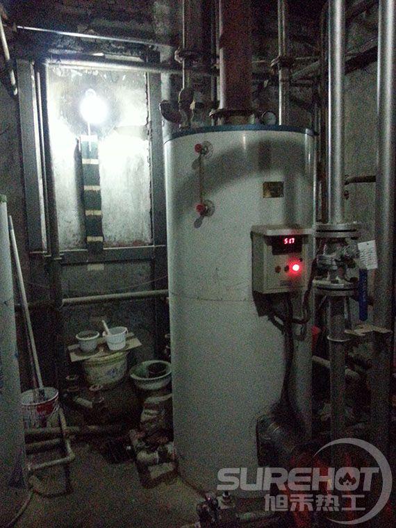北京特警基地热水锅炉燃烧器