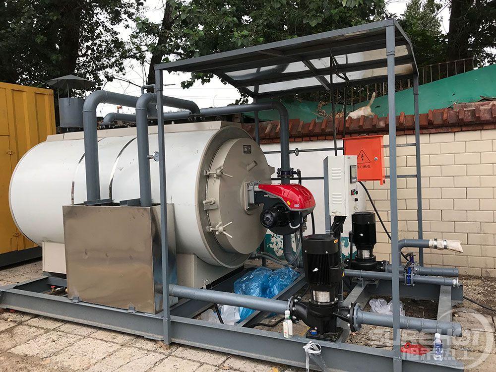 北京抢险大队可移动式热水锅炉