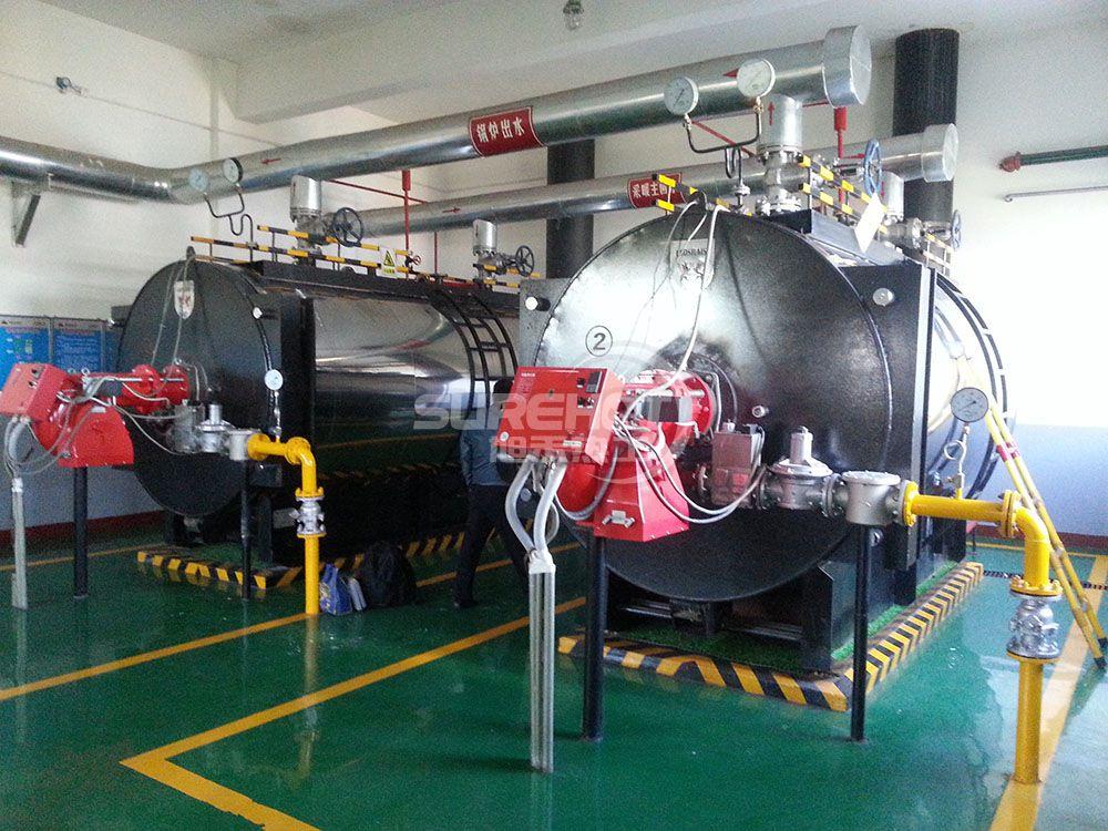 内蒙古机电厂6吨热水锅炉