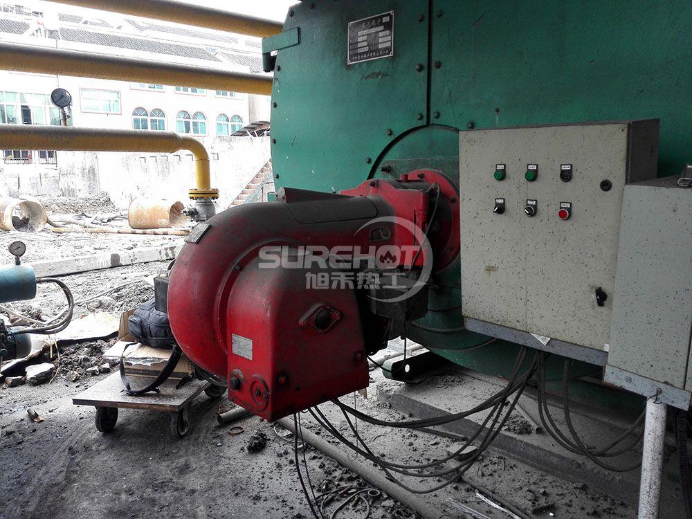 浙江利雅得羊毛厂 6吨蒸汽锅炉