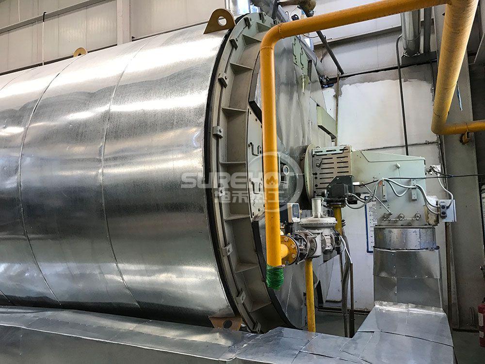 北京威廉顺 7MW导热油炉