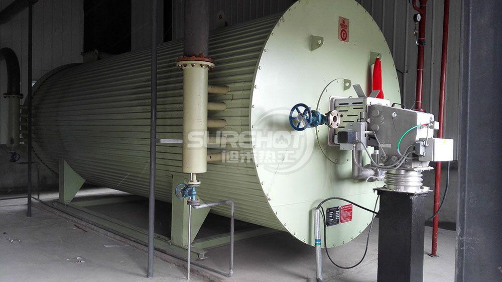 甘肃力通 2.8MW导热油炉分体燃烧器