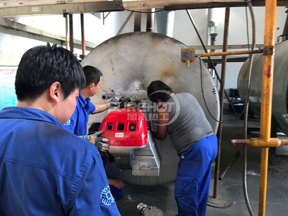 衡橡科技 1.4MW导热油炉天然气燃烧器