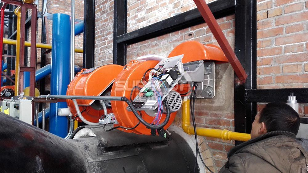 中国北汽 6台600KW热风炉燃烧器
