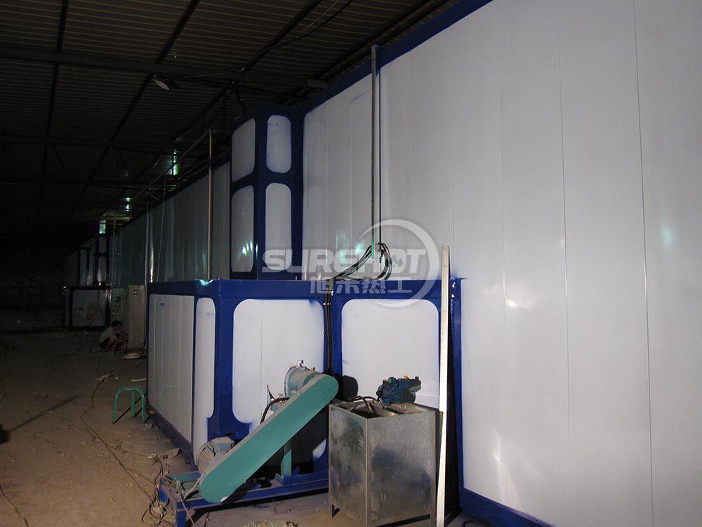 北京大型烤漆厂 2台450KW烤漆流水线燃烧器