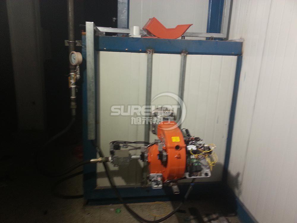 香河烤漆厂 2台450KW烤漆流水线燃烧器