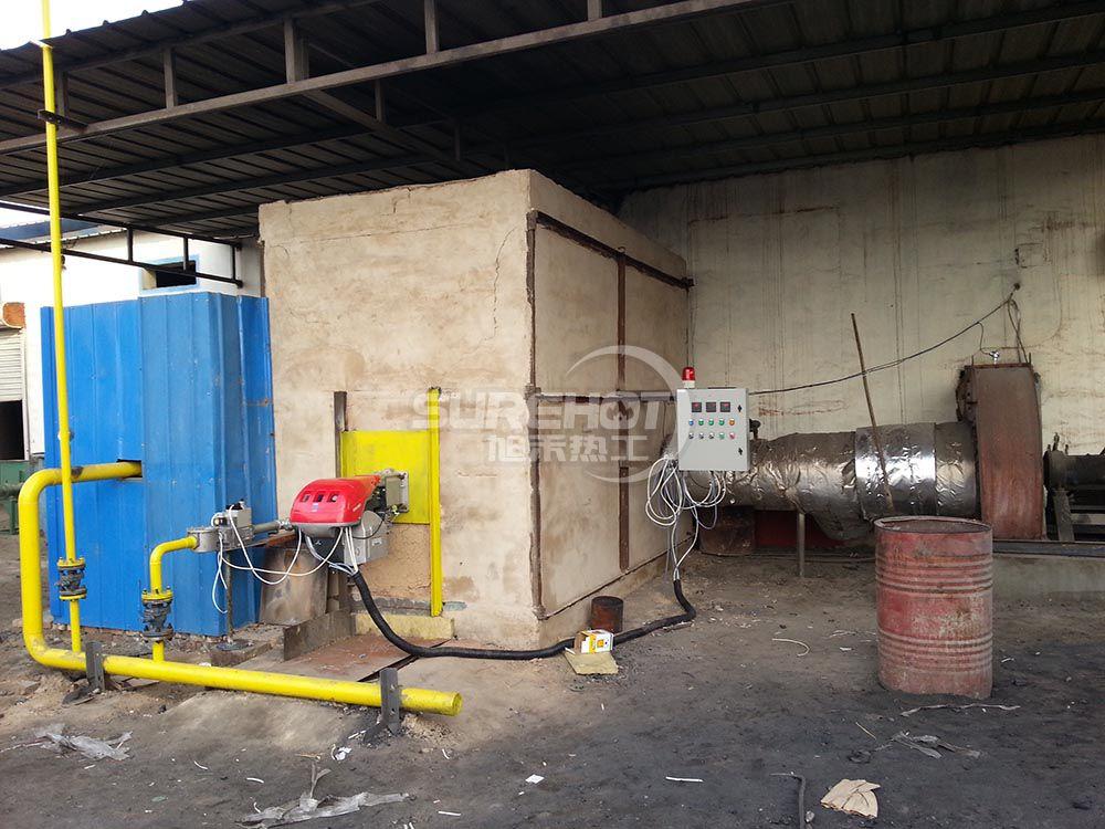 河北华泰 1512KW岩棉固话炉天然气燃烧器