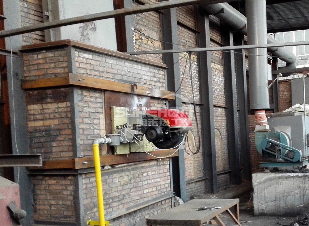 河北天利 2650kW岩棉固化炉天然气燃烧器