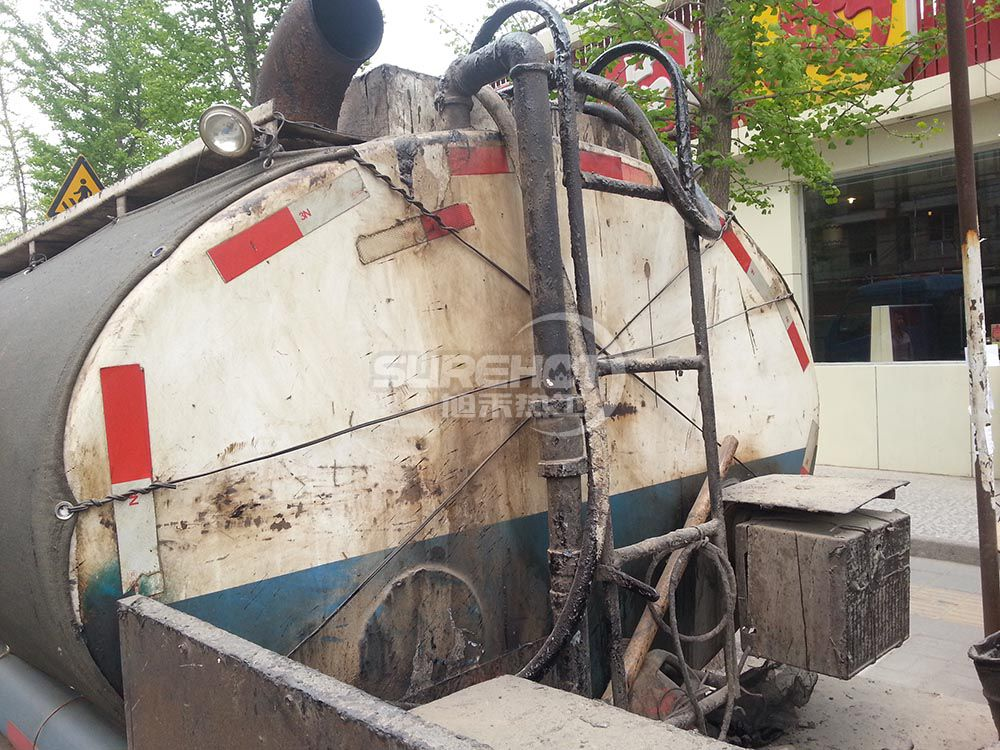 沥青罐车 232KW沥青罐车柴油燃烧器