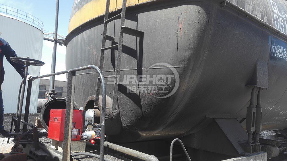 甘肃力通 232KW火车载沥青罐车
