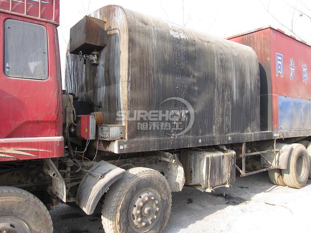 保定公路 116KW沥青洒布车用柴油燃烧器