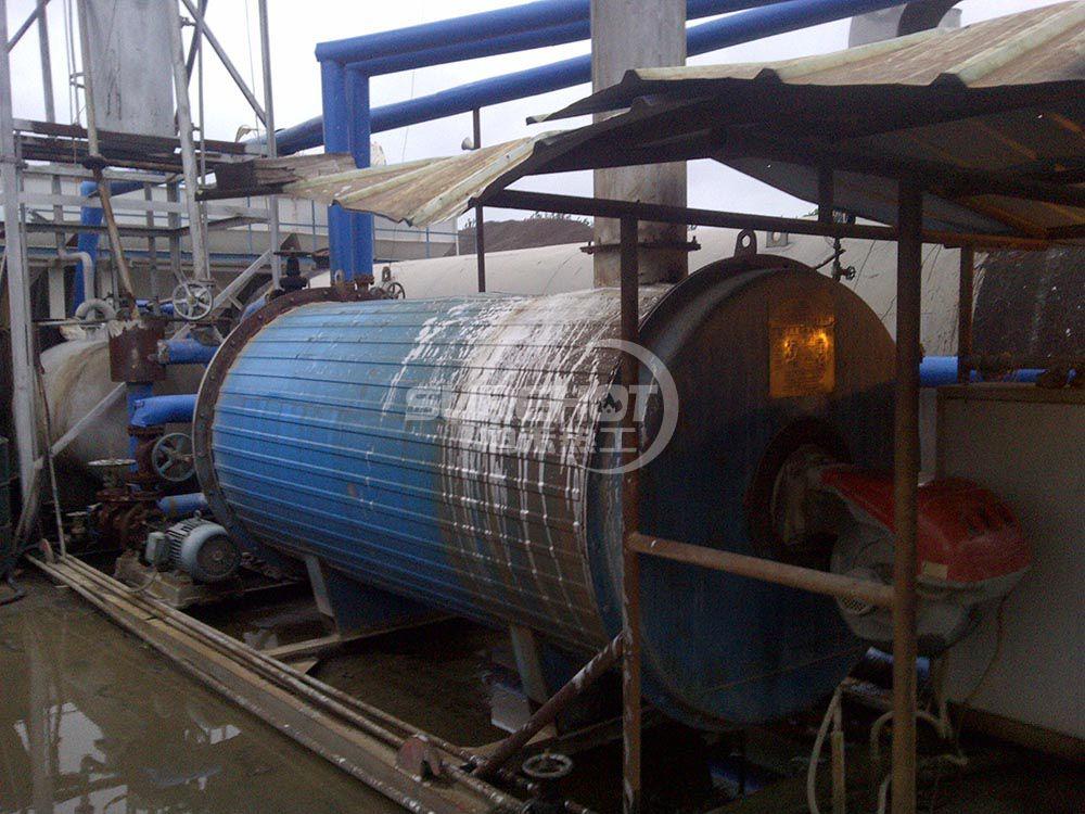 唐山公路 700KW沥青加热导热油炉