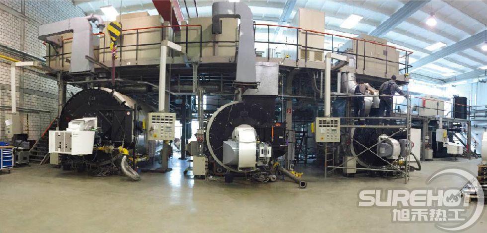 超低氮燃烧器国外应用场景